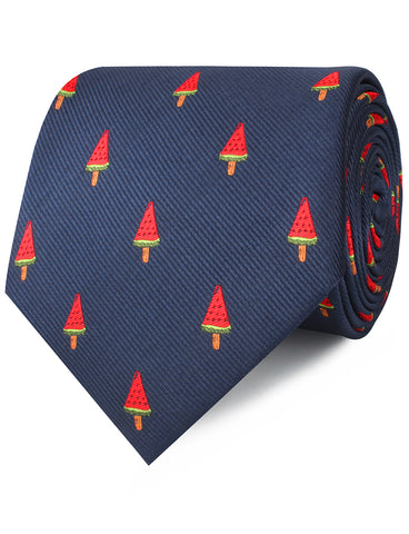 Watermelon Popsicle Necktie
