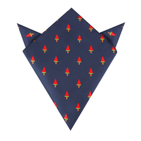 Watermelon Popsicle Pocket Square