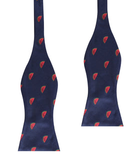 Watermelon Self Bow Tie