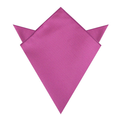 Wild Orchid Purple Weave Pocket Square