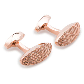 William the Conqueror Rose Gold Cufflinks