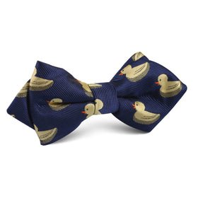 Yellow Duck Diamond Bow Tie