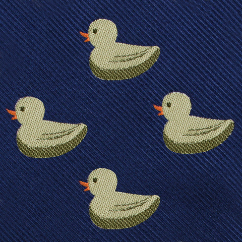 Yellow Duck Pocket Square