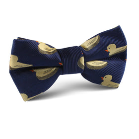 Yellow Duck Kids Bow Tie