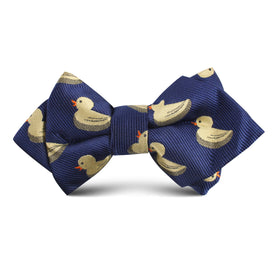 Yellow Duck Kids Diamond Bow Tie
