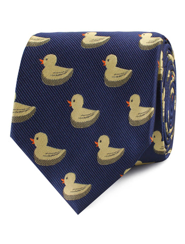 Yellow Duck Tie