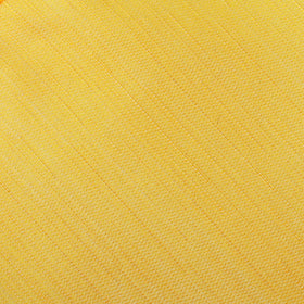Yellow Grain Slub Pocket Square