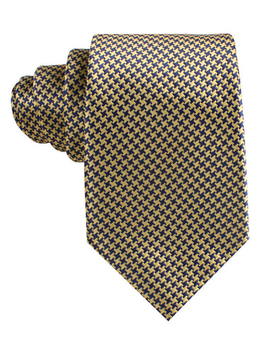 Yellow Houndstooth Tie