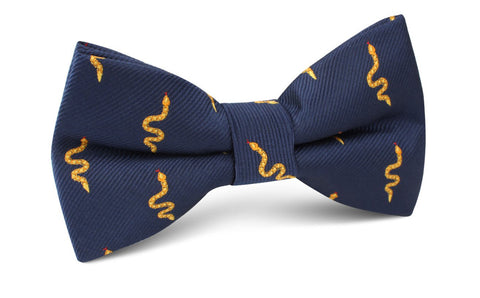 Yellow Snake Bow Tie