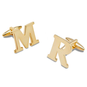 Gold Personalised Cufflinks