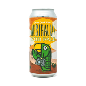 Australian For Pale 4pk $15 // Hoppy Pale Ale 5.8%abv