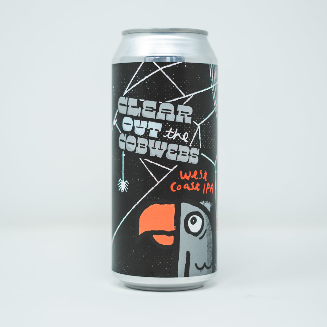 Clear Out The Cobwebs 4pk $16 // West Coast IPA 7% abv