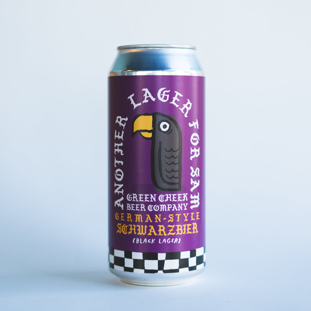 Another Lager For Sam 4pk $14 // German-Style Schwarzbier 4.8%abv