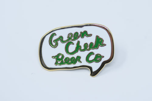 Word Bubble Enamel Pin