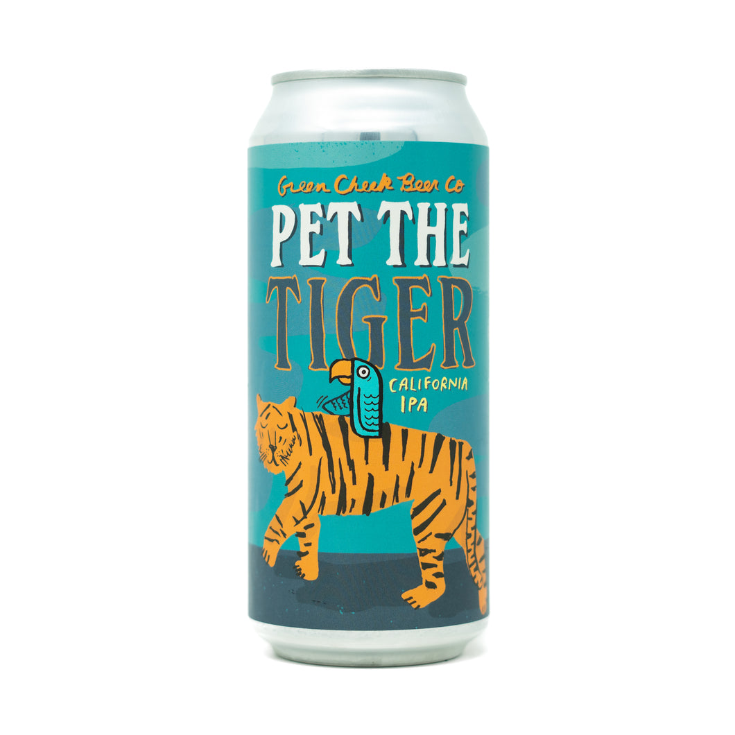 Pet The Tiger 4pk $16 // California IPA 7.2% abv