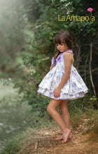 Load image into Gallery viewer, La Amapola Purple Air Balloon Puffball Summer Dress