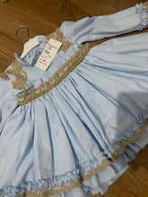 Load image into Gallery viewer, La Amapola - Always Vestido Vuelo 37/8 BLUE
