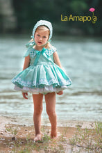 Load image into Gallery viewer, La Amapola Mint Puffball Summer Dress