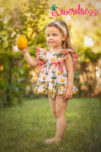 Load image into Gallery viewer, DiverDress Limoncello Baby Dress and Knickers