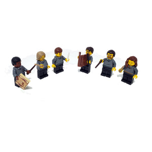 Custom Hogwarts House Minifigure