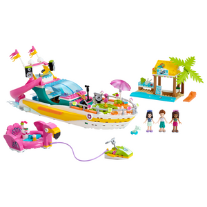 New Set 41433 Friends Party Boat