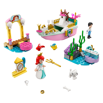 New Set 43191 Ariel's Celebration Boat