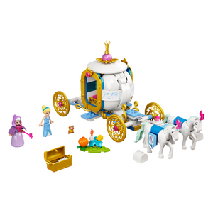 New Set 43192 Cinderella's Royal Carriage