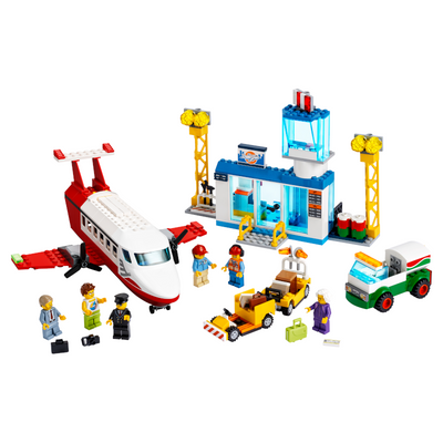 New Set 60261 City Central Airport