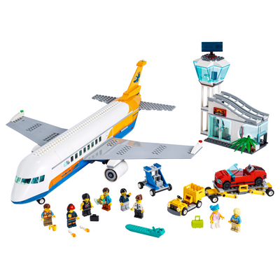 New Set 60262 City Passenger Airplane