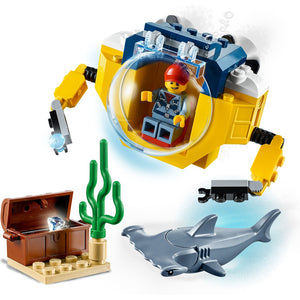 New Set 60263 Ocean Mini-Submarine