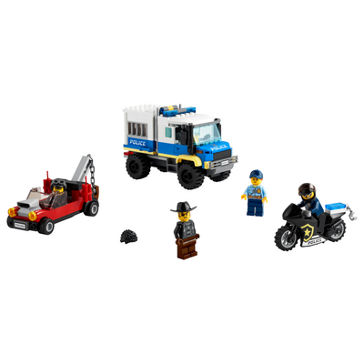 New Set 60276 Police Prisoner Transport