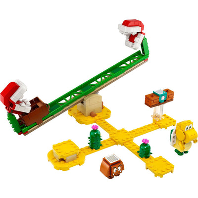 New Set 71365 Super Mario Piranha Plant Power Slide Expansion Set
