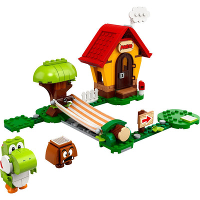 New Set 71367 Super Mario Marios House & Yoshi Expansion Set