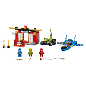 New Set 71703 Ninjago Storm Fighter Battle