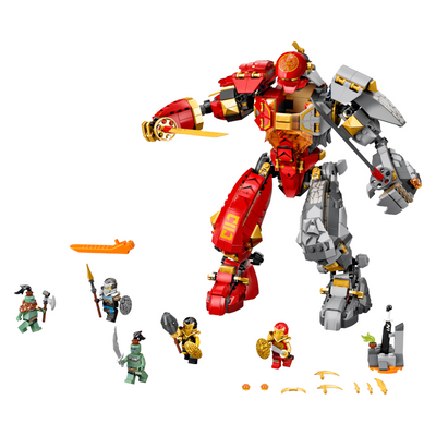 New Set 71720 Ninjago Fire Stone Mech