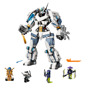 New Set 71738 Zane's Titan Mech Battle
