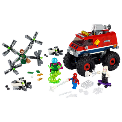 New Set 76174 Spider-Man's Monster Truck vs. Mysterio