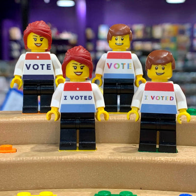 I VOTED Ball Minifigure