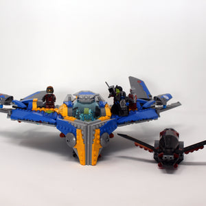 Used Set 76021  The Milano Spaceship Rescue