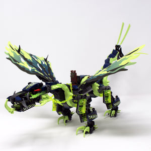 Used Set 70736 Ninjago Attack of The Morro Dragon (Dragon Only)