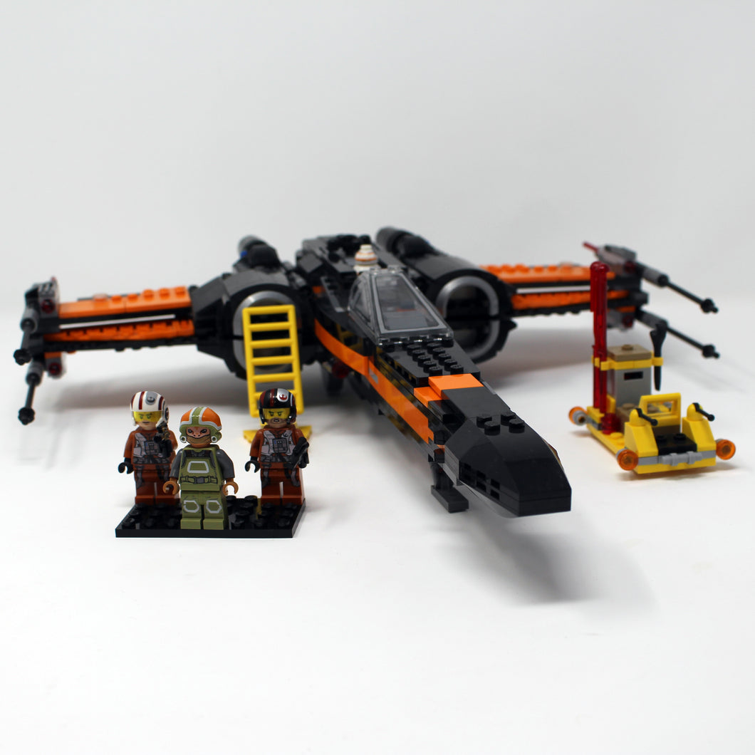 Used Set 75102 Star Wars Poe's X-Wing Fighter