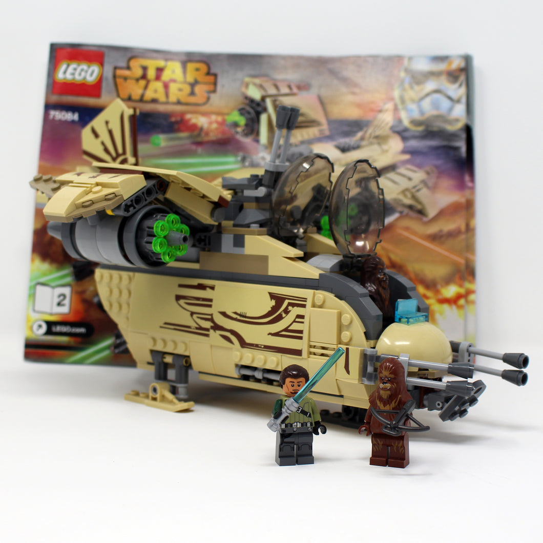 Used Set 75084 Star Wars Wookiee Gunship