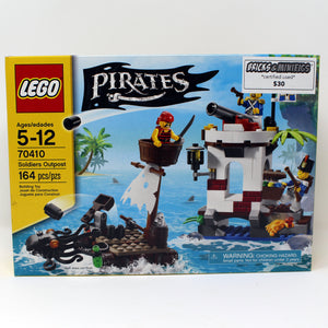 Certified Uset Set 70410 Pirates Soliders Outpost