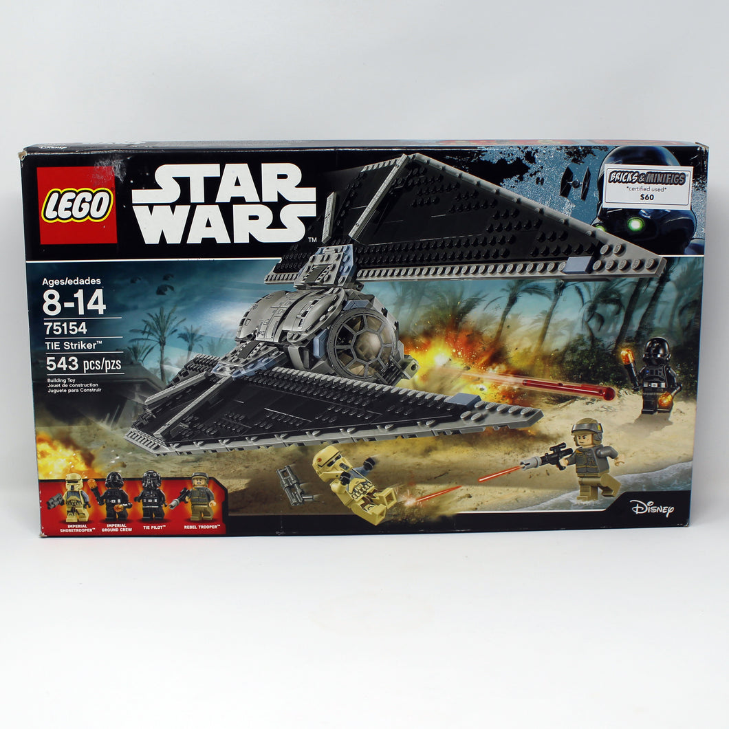 Certified Used Set 75154 Star Wars Tie Striker