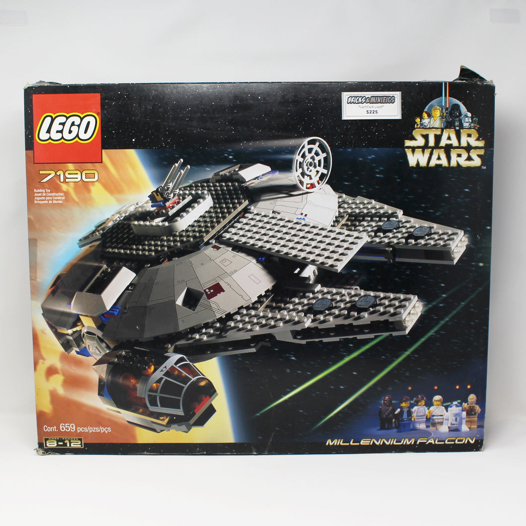 Certified Used Set 7190 Star Wars Millenium Falcon