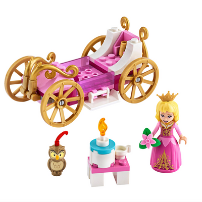 New Set 43173 Aurora's Royal Carriage