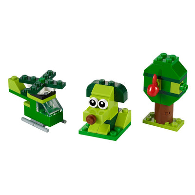 New Set 11007 Classic Creative Green Bricks