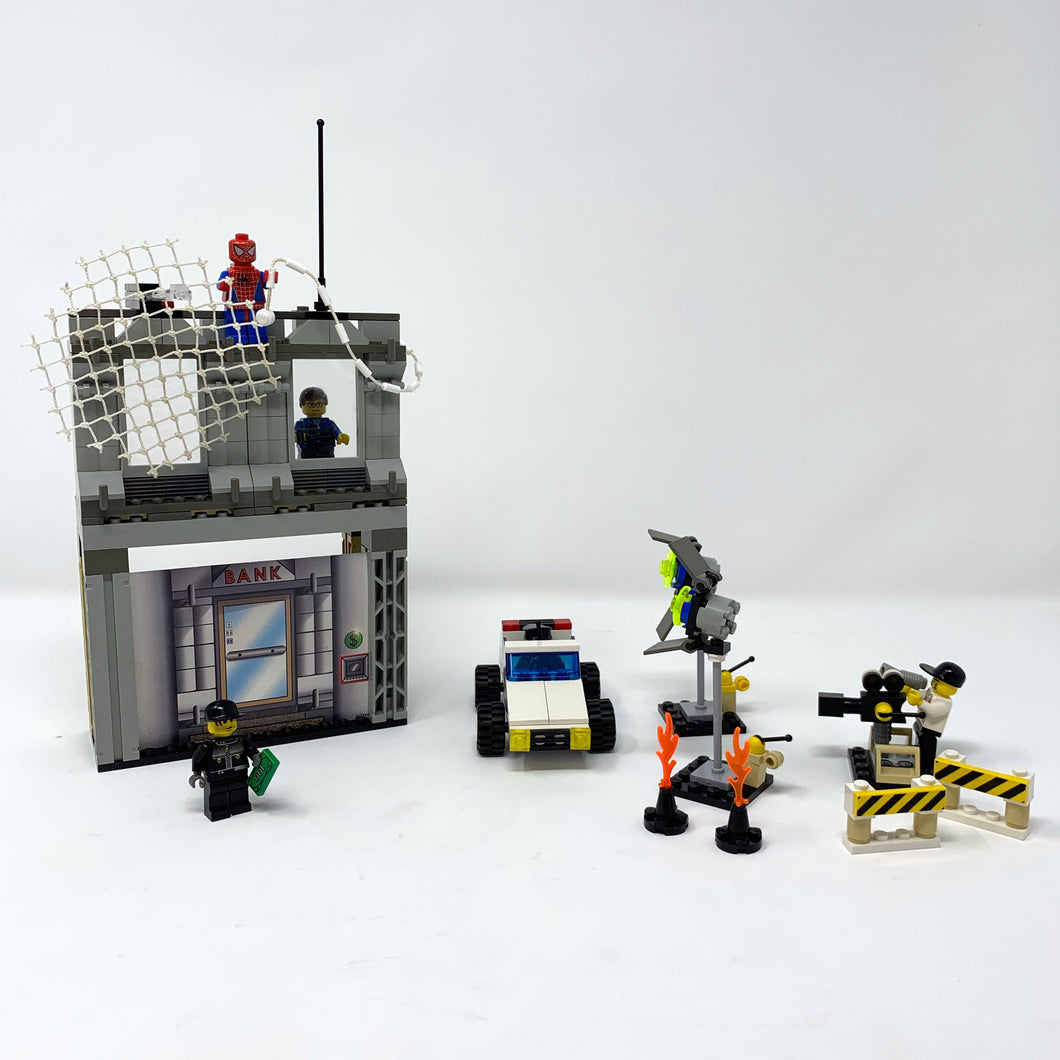 Used Set 1376 Spider-Man™ Action Studio