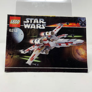 Used Set 6212 Star Wars X-Wing