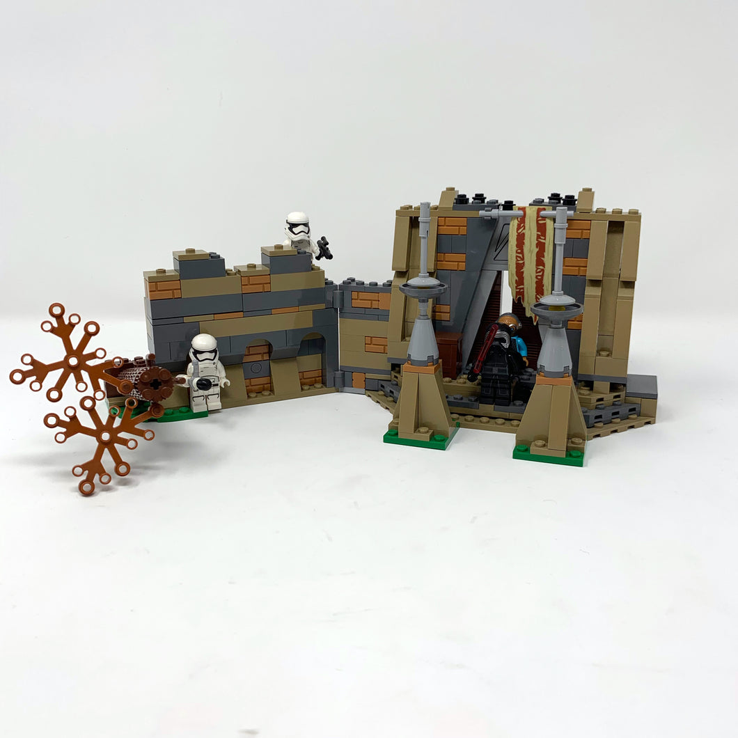 Used Set 75139 Battle on Takodana